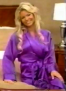 Gabrielle in Satin Sleepwear-3