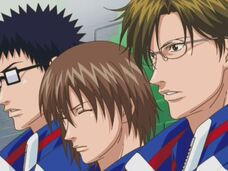 Initially Seigaku's 3 strongest before Echizen arrived