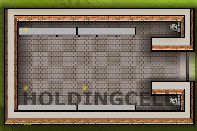 Holding Cell Prison Architect Wiki Fandom Powered By Wikia