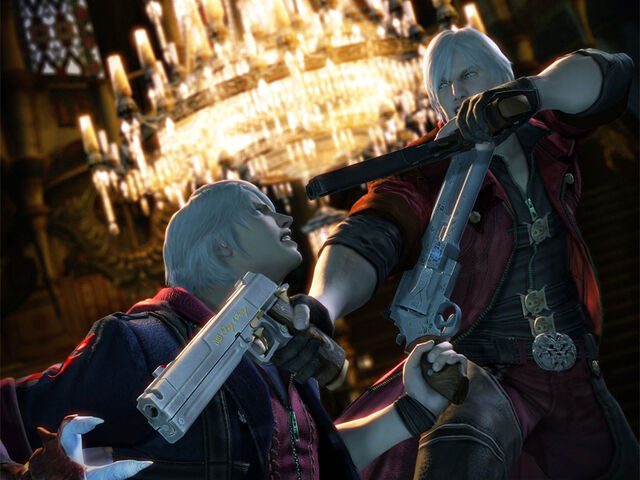 File:Devil May Cry 4 Dante vs Nero by Niki4a12.jpg