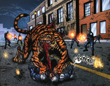 PrtComic-Infected tiger