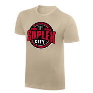 Brock Lesnar Suplex City Vintage T-Shirt