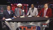 Josh Mathews, Mick Foley, Booker T & The Miz - WWE TLC 2013 panelist team