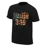 Stone Cold Steve Austin Americana T-Shirt