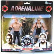WWE Wrestling Adrenaline Series 38 Christian & Jack Swagger