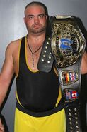 Eddie Kingston Chikara Grand Championship