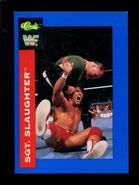 1991 WWF Classic Superstars Cards Sgt. Slaughter 61