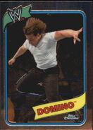 2008 WWE Heritage III Chrome Trading Cards Domino 16