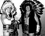 Chief Jay Strongbow and Billy White Wolf