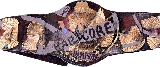 Image result for wwe hardcore championship