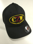 CZW Black Flex Fit Hat