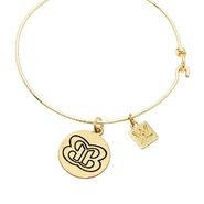 The Bellas Butterfly Gold Wire Bracelet