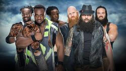 BG 2016 New Day v Wyatt Family