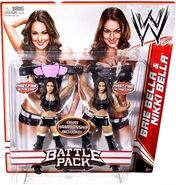 WWE Battle Packs 15 Bella Twins
