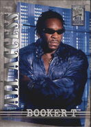 2002 WWF All Access (Fleer) Booker T 13