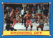 1987 WWF Wrestling Cards (Topps) Showing Off 63