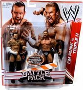 WWE Battle Packs 18 CM Punk & Triple H