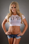 Dianna Dahlgren Alpha White Crop Top
