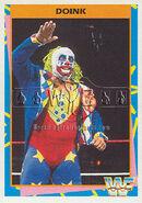 1995 WWF Wrestling Trading Cards (Merlin) Doink 80