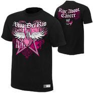 Alberto Del Rio Rise Above Cancer Black Authentic T-Shirt
