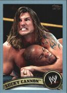 2011 WWE (Topps) Lucky Cannon 84