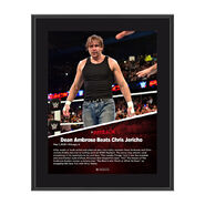Dean Ambrose Payback 2016 10 x 13 Photo Collage Plaque