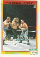 1995 WWF Wrestling Trading Cards (Merlin) Bushwhackers 164