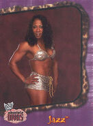 2002 WWE Absolute Divas (Fleer) Jazz 20