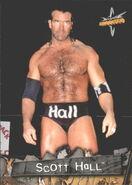 1999 WCW Embossed (Topps) Scott Hall 59