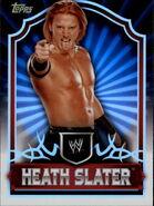 2011 Topps WWE Classic Wrestling Heath Slater 25
