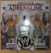 WWE Wrestling Adrenaline Series 31 Rory McAllister & Robbie McAllister