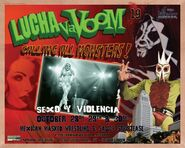 Lucha VaVoom Poster 19