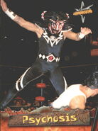 1999 WCW Embossed (Topps) Psychosis 38