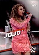 2016 WWE Divas Revolution Wrestling (Topps) JoJo 24