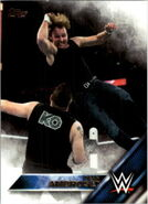 2016 WWE (Topps) Then, Now, Forever Dean Ambrose 116