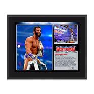 Zack Ryder WrestleMania 32 10 x 13 Photo Collage Plaque