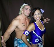 Micah Taylor and Tracy
