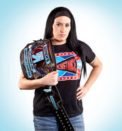 Melanie Cruise as RESISTANCE Pro Womens Champion