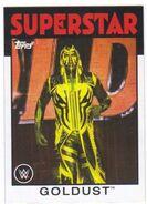 2016 WWE Heritage Wrestling Cards (Topps) Goldust 15