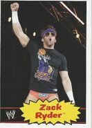 2012 WWE Heritage Trading Cards Zack Ryder 43