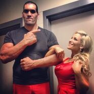 The Great Khali & Natalya