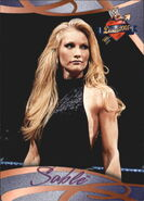 2004 WWE Divas 2005 (Fleer) Sable 11