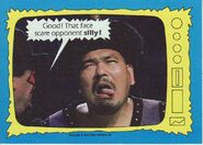 1987 WWF Wrestling Cards (Topps) Mr. Fuji 75