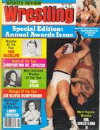 Sports Review Wrestling - March 1981