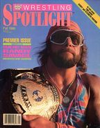 WWF Wrestling Spotlight Premier Issue Macho Man