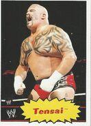 2012 WWE Heritage Trading Cards Tensai 39