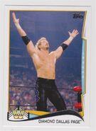 2014 WWE (Topps) Diamond Dallas Page 99