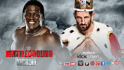 WWE Battleground 2015 - R-Tuth v Barrett