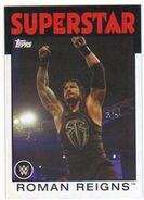 2016 WWE Heritage Wrestling Cards (Topps) Roman Reigns 29