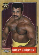 2008 WWE Heritage III Chrome Trading Cards Rocky Johnson 83